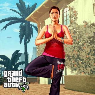 Grand Theft Auto Girl - Obrázkek zdarma pro iPad mini