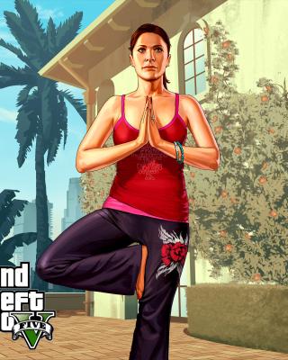 Grand Theft Auto Girl - Obrázkek zdarma pro Nokia Asha 305