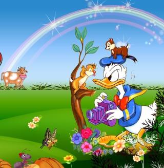 Donald Duck - Obrázkek zdarma pro iPad mini