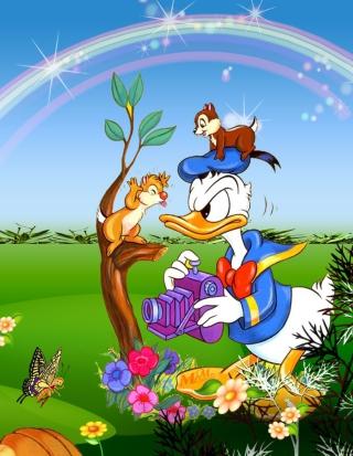 Donald Duck - Obrázkek zdarma pro Nokia Lumia 810