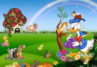Donald Duck - Obrázkek zdarma pro Nokia Asha 302