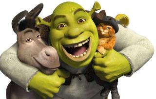 Shrek Hd - Obrázkek zdarma pro 1366x768