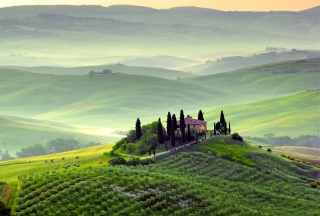 Pienza, Toscana Wallpaper for Android, iPhone and iPad