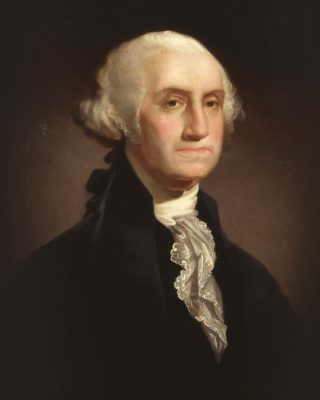 George Washington - Obrázkek zdarma pro Nokia X7
