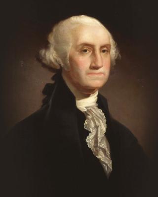 George Washington - Obrázkek zdarma pro 240x432