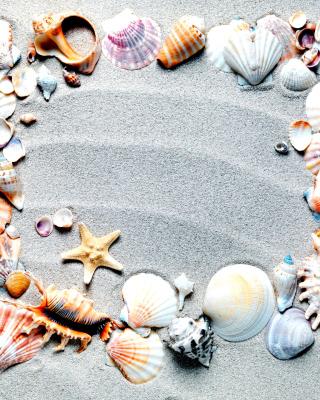 Australian Seashells Favors - Obrázkek zdarma pro Nokia Asha 503