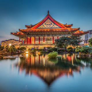 Taipei Longshan Temple - Obrázkek zdarma pro 320x320
