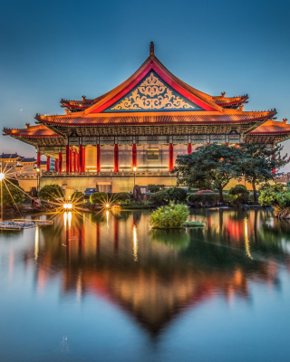 Taipei Longshan Temple - Obrázkek zdarma pro Nokia Asha 308