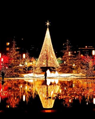 Merry Christmas Greeting Card - Obrázkek zdarma pro Nokia Lumia 520