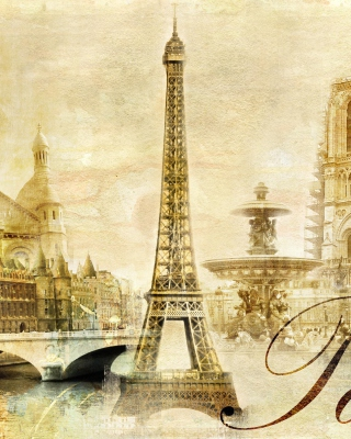 Paris, Sacre Coeur, Cathedrale Notre Dame - Obrázkek zdarma pro 480x640