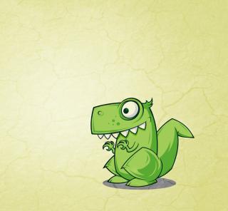 Dinosaur Illustration - Obrázkek zdarma pro 1024x1024