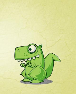 Dinosaur Illustration - Obrázkek zdarma pro Nokia Asha 310