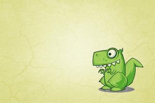 Dinosaur Illustration - Obrázkek zdarma pro HTC Desire