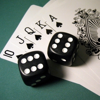 Gambling Dice and Cards - Obrázkek zdarma pro iPad 3