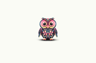 Owl Illustration Picture for Android, iPhone and iPad