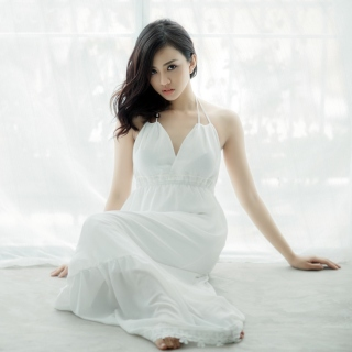 Japanese girl - Obrázkek zdarma pro 2048x2048