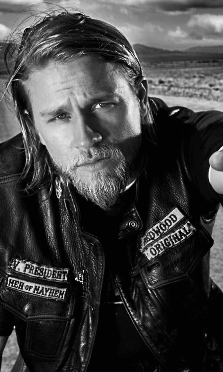 jax teller sons of anarchy wallpaper for 768x1280