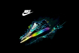 Nike Logo and Nike Air Shoes - Obrázkek zdarma pro Samsung Galaxy Grand 2