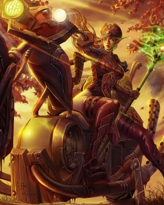 Blood Elf World of Warcraft - Obrázkek zdarma pro iPhone 5S