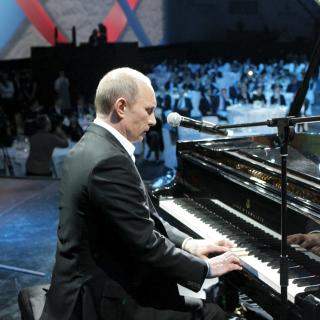 Vladimir Putin President of Russia - Obrázkek zdarma pro 320x320