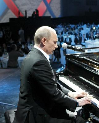 Vladimir Putin President of Russia - Obrázkek zdarma pro Nokia C1-00