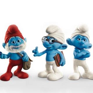 Smurfs 2011 Movie - Obrázkek zdarma pro iPad 3