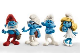 Smurfs 2011 Movie - Obrázkek zdarma pro HTC Desire