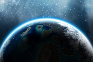 Calm Space Background for Android, iPhone and iPad