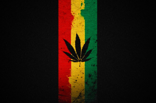Leaf Rasta Wallpaper for Android, iPhone and iPad