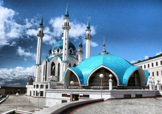 Mosque Background for Android, iPhone and iPad