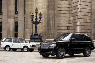 Land Rover Range Rover Classic and Retro Background for Android, iPhone and iPad