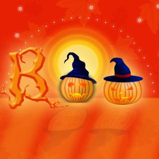 Halloween Pumpkins - Obrázkek zdarma pro 128x128
