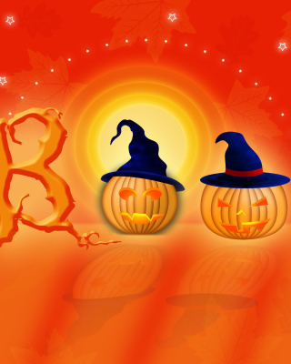 Halloween Pumpkins - Obrázkek zdarma pro Nokia C6