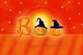 Halloween Pumpkins Picture for Android, iPhone and iPad