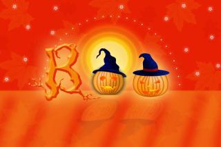 Halloween Pumpkins - Obrázkek zdarma pro Motorola DROID