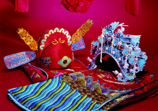 Free Chinese Wedding Background Picture for Android, iPhone and iPad