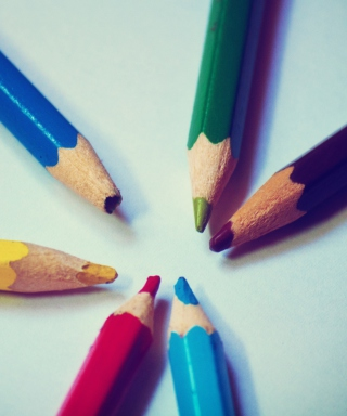 Colorful Pencils - Obrázkek zdarma pro Nokia X2-02