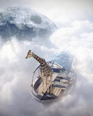 Giraffe Traveler - Obrázkek zdarma pro iPhone 5