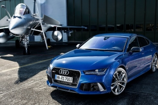 Audi RS7 - Obrázkek zdarma pro Android 600x1024