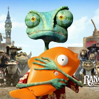 Rango - Obrázkek zdarma pro iPad mini 2
