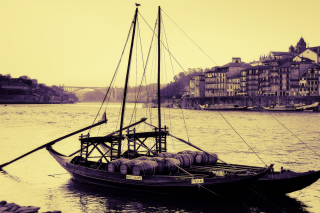 Portugal Boat Wallpaper for Android, iPhone and iPad