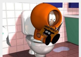 Kenny - South Park - Obrázkek zdarma pro Desktop Netbook 1366x768 HD