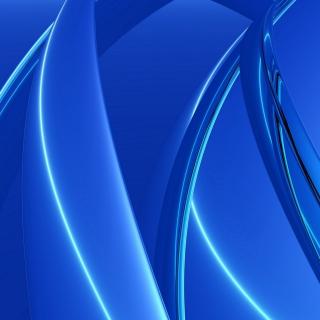 Blue Arcs - Obrázkek zdarma pro iPad mini 2