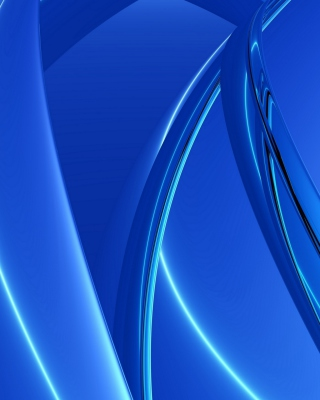 Blue Arcs - Obrázkek zdarma pro Nokia Asha 203