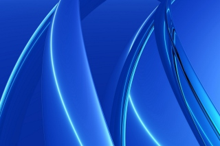 Blue Arcs - Obrázkek zdarma pro Samsung Google Nexus S 4G