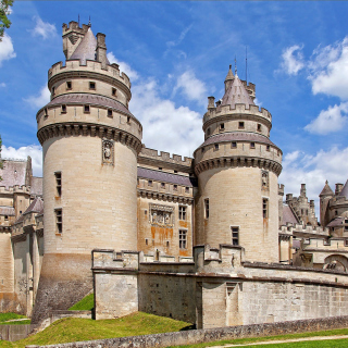 Chateau de Pierrefonds in France - Obrázkek zdarma pro 2048x2048