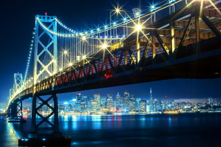 San Fransisco Bay Background for Android, iPhone and iPad