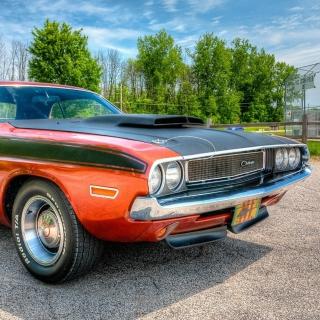 Dodge Challenger 1970 - Obrázkek zdarma pro 2048x2048