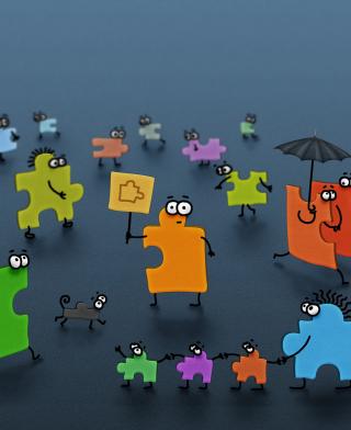Funny Puzzle - Obrázkek zdarma pro Nokia C6