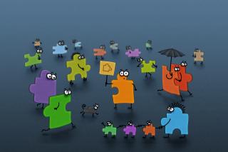 Funny Puzzle - Obrázkek zdarma pro Nokia Asha 302